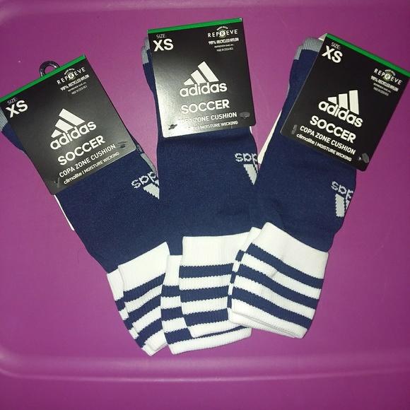 de9cd8434 adidas Accessories | Soccer Socks | Poshmark
